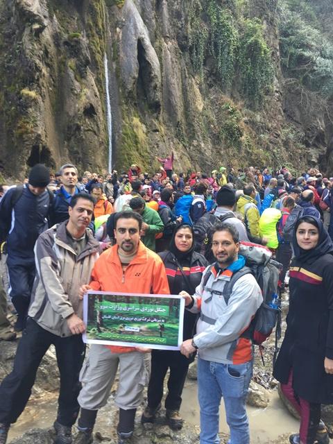 حضور کارکنان نیروگاه زرند در کوهنوردی سراسری وزارت نیرو