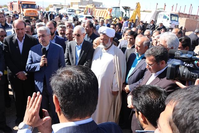 حضور وزیر نیرو در استان کرمان