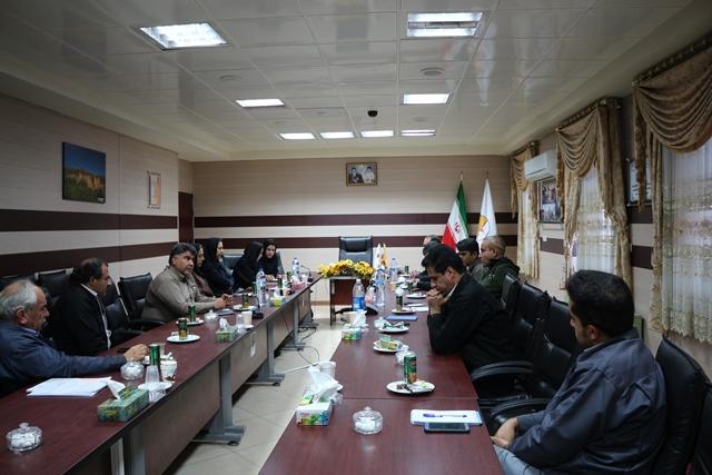 برگزاری جلسه مدیریت مصرف انرژی نیروگاه زرند